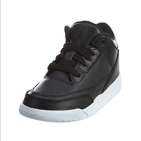 a84261f9bd4 Kids Air Jordan Retro 3 Black White 429487-020. M_5bee2cb3aa8770d3474ae821